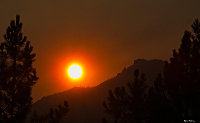 'Brilliant Bitterroot Sunset'