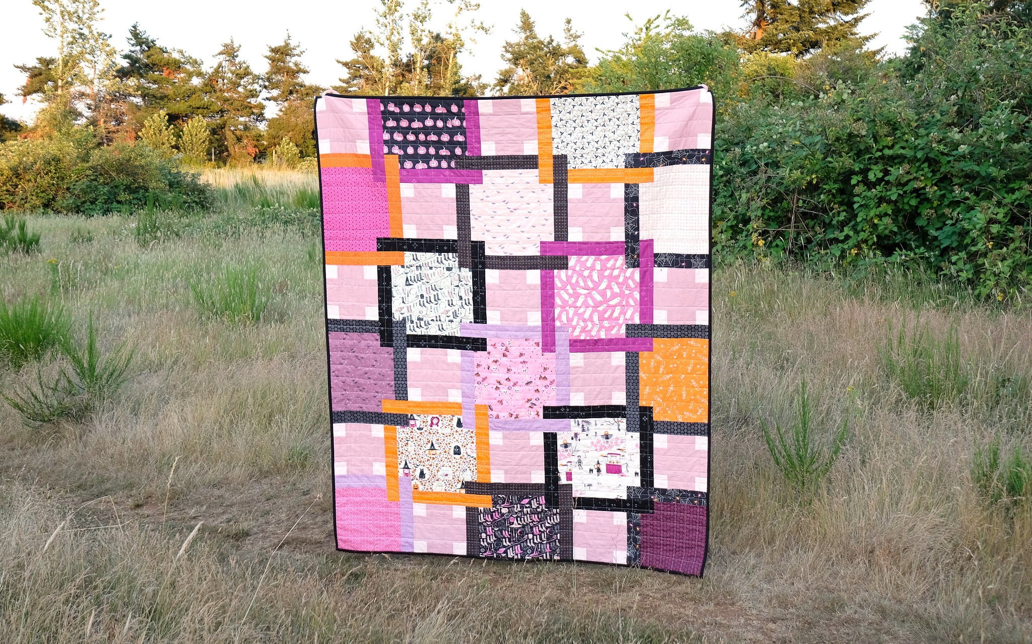 The Judy Quilt in Spooky n Sweeter 4