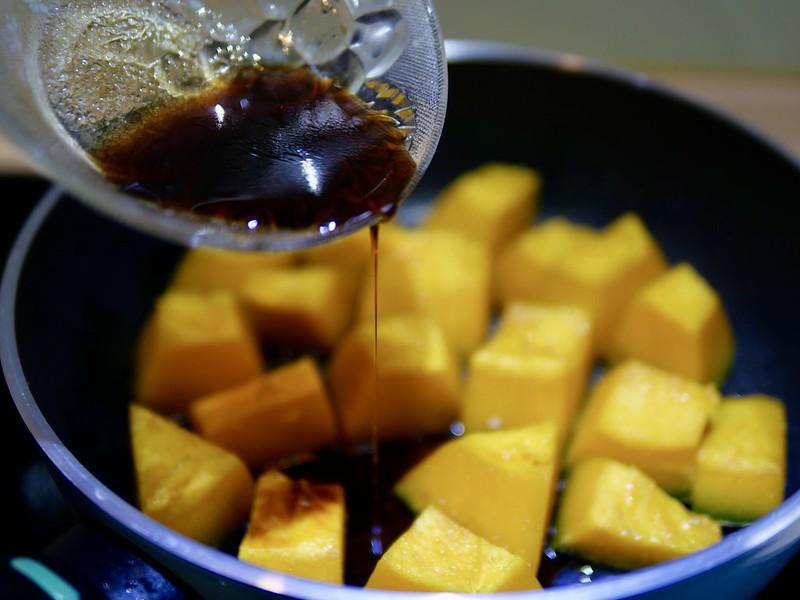 醬燒南瓜 日系家常菜