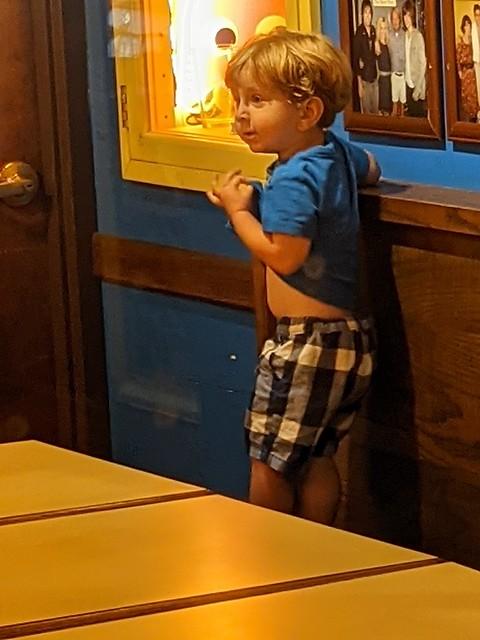 Cameron Exploring