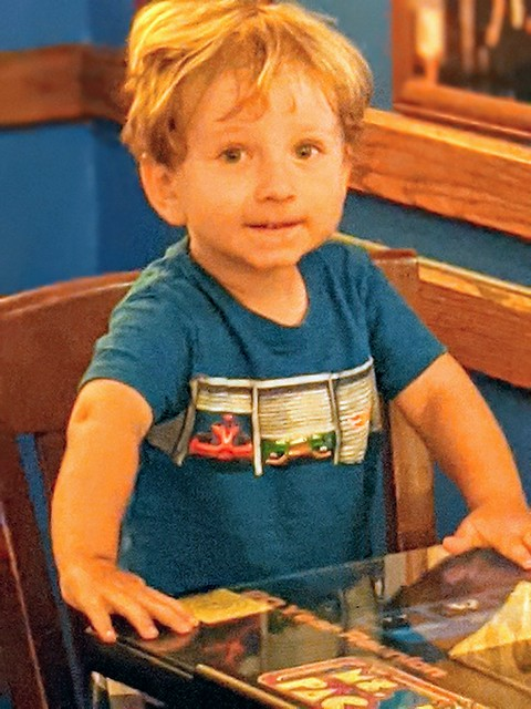 Cameron at Blueberry Hill