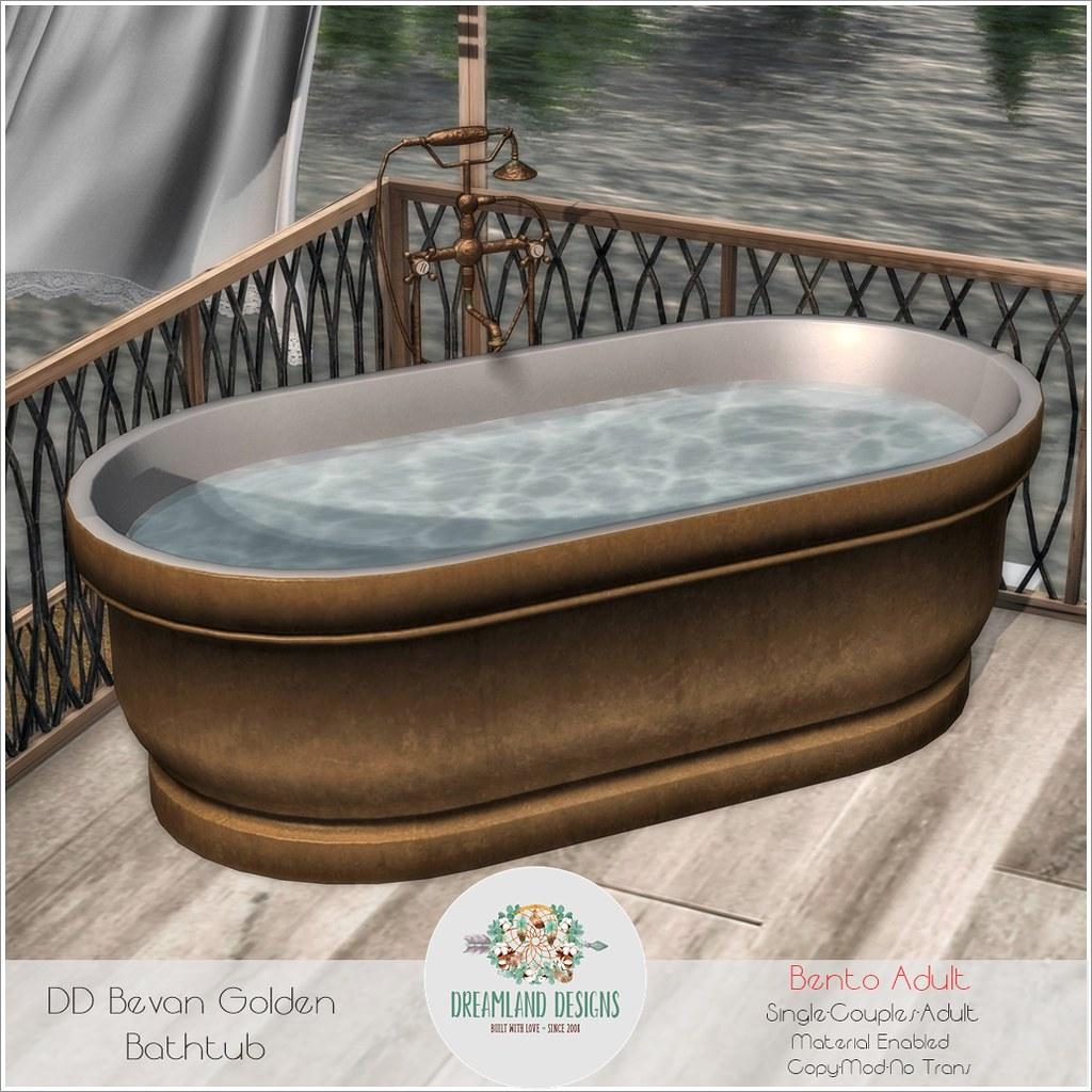 DD Bevan Golden  Bathtub-Adult