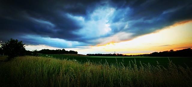 Big Sky At Rainford
