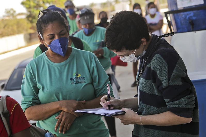 Começa a vacinação de catadores de materiais recicláveis (08.07.2021)
