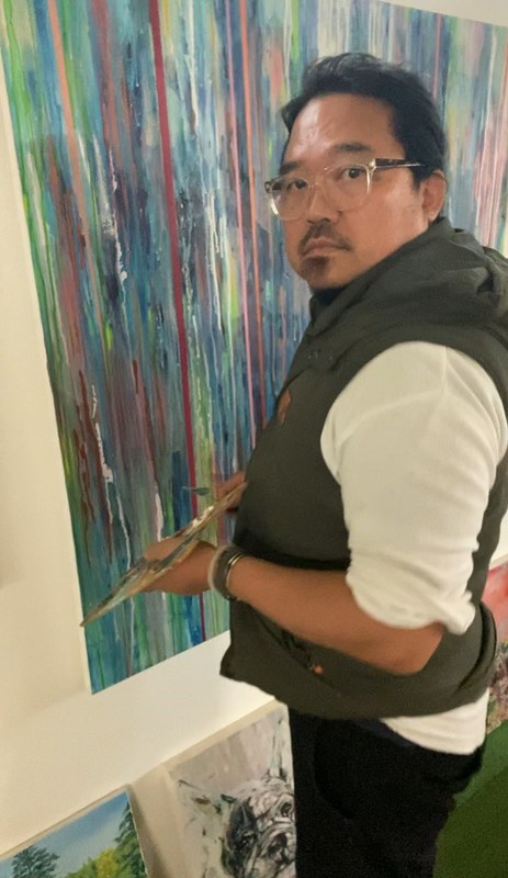 Artist Kenneth WH Lee (1)