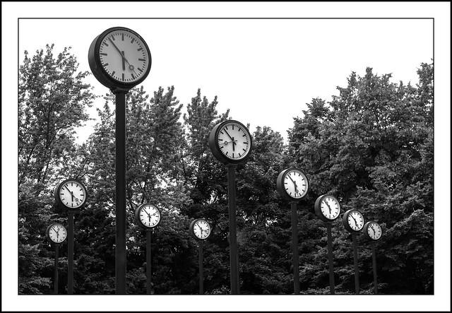 17:53 Uhr in Düsseldorf...