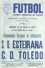 Temporada 1976/77: Toledo 4 – Esteirana 0