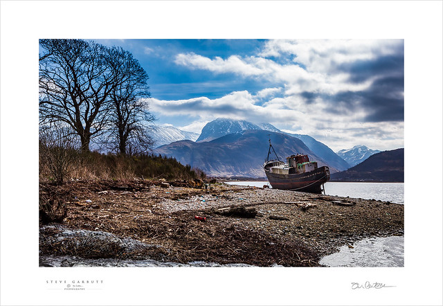 Corpach Shipwreck, Fort William