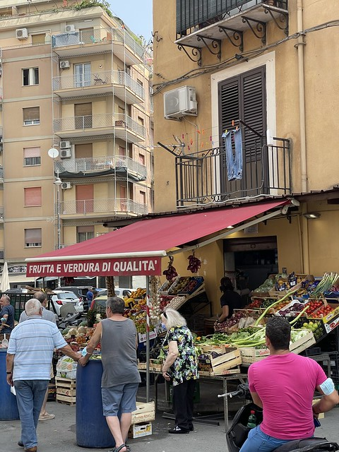 Im Vecchio Borgo von Palermo