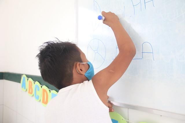 08.07.2021 Visita a escola indígena Kanata T. Ykua
