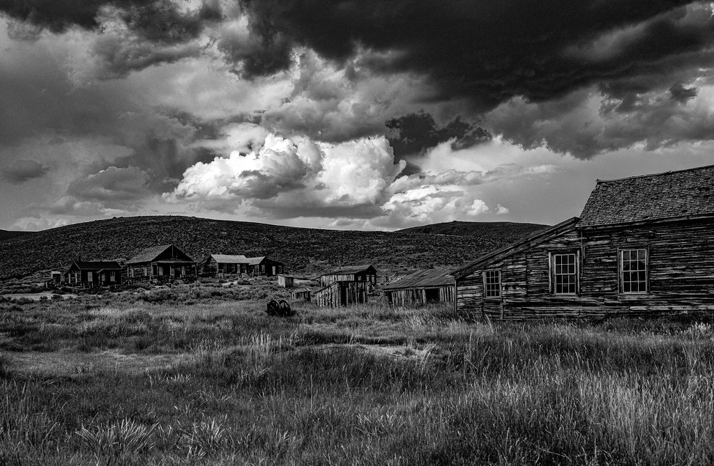Storm Over Bodie by Bob Wagener