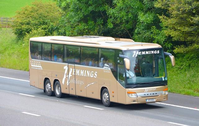 Hemmings Coaches, Holsworthy (K19 HEM)