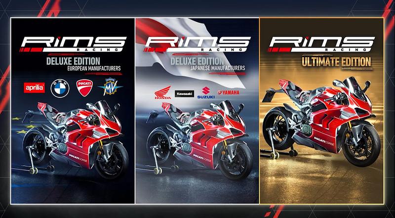 RIMS Racing Game Versions