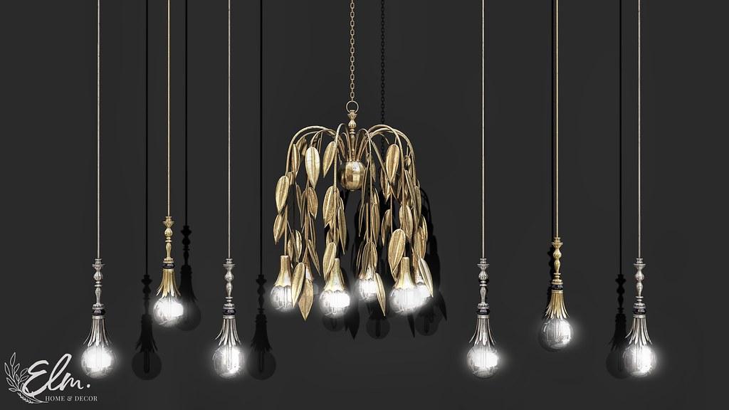 Elm. Talia Chandelier & Lights for Collabor88