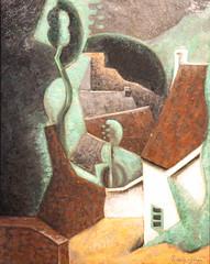 Paysage - Metzinger, 1920