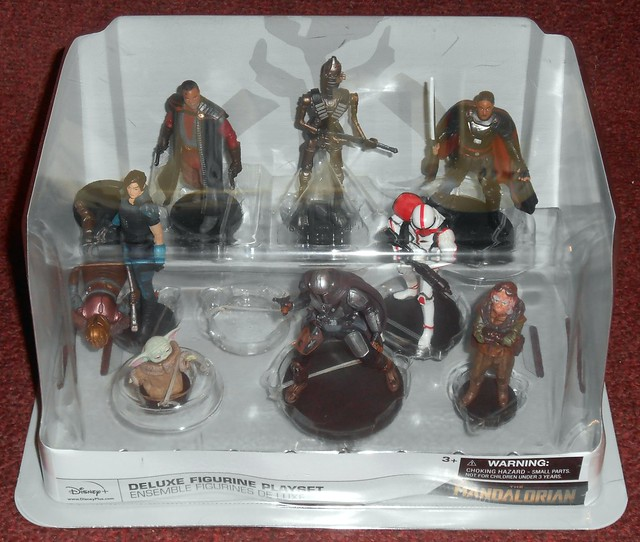 Disney - The Mandalorian Deluxe Figurine Playset