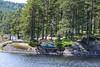 Zipline fra vestre del av Klatreskogen - Mineralparken - Evje - Gjermund Glesnes