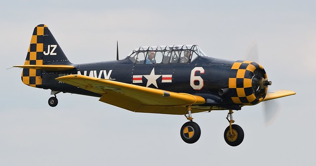 North American AT-6C-NT Texan Harvard IIA G-TSIX 1118 36 USAAF 41-32262 111836/JZ-6 US Navy