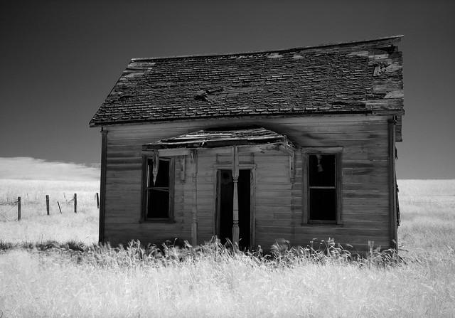 Abandoned Farmhouse, Oregon
