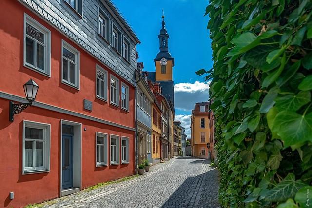 Rudolstadt - Blick auf das Alte Rathaus