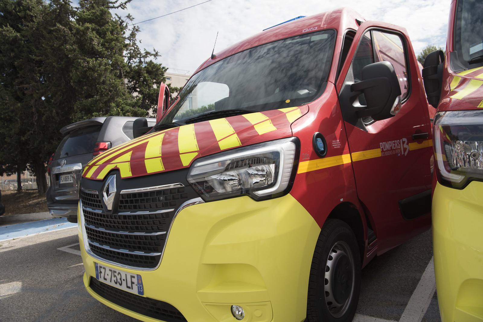 Opérations : de nouveaux VSAV pour les Pompiers13