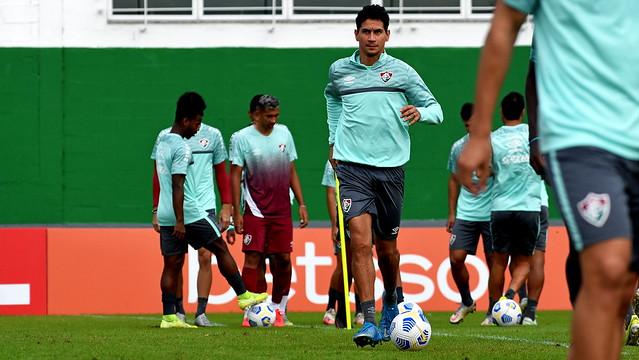 Treino do Fluminense 09/07/2021