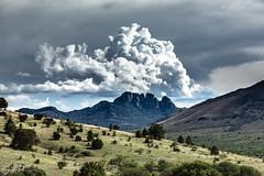 Sawtooth Mountan - Davis Mountains Preserve, Texas
