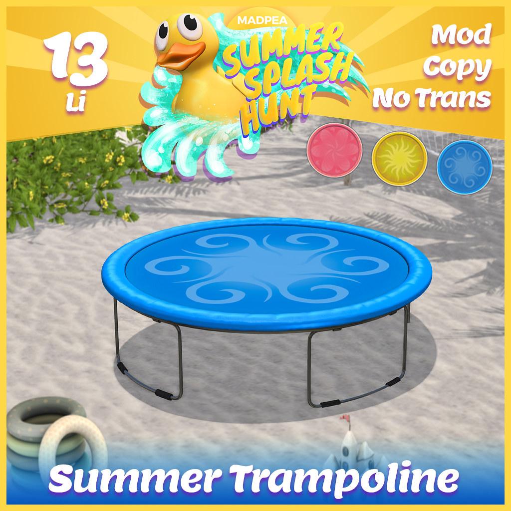 Summer Hunt Prize Reveal: Summer Trampoline