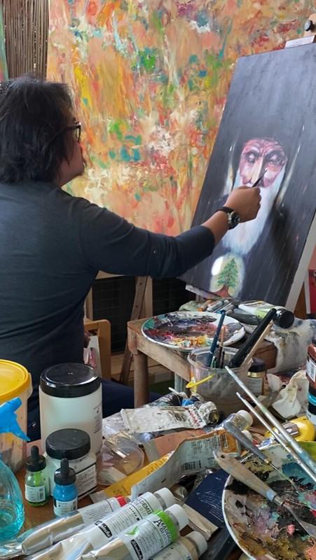 Artist Kenneth WH Lee (3)