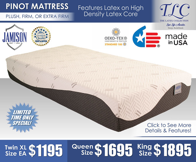 Pinot Plush Firm or Extra Firm Mattress Only_Jamison_July2021