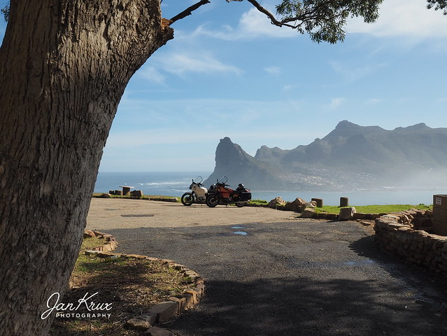 The Tree, Motorcycles and Mountains