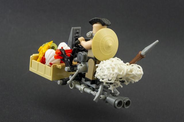 Cyberpunk fisherman Speeder bike (02)