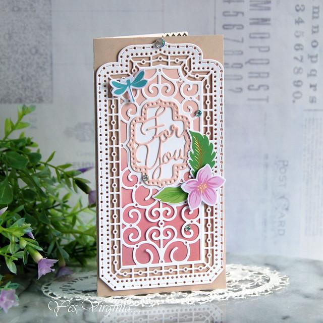 Small Die +Card Kit (Virginia Lu)  - Copy