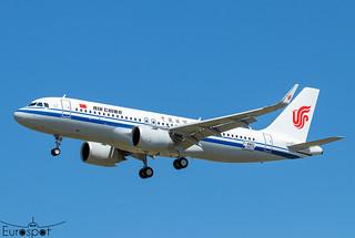 F-WWDC / B-324T Airbus A320-251N Air China s/n 10577 - First flight  * Toulouse Blagnac 2021 *