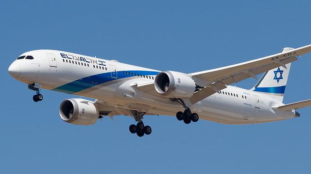 TLV - El Al Boeing 787-9 4X-EDJ