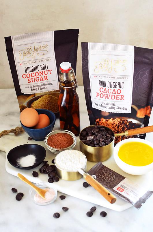 Cassava Flour Paleo Brownies {nut-free, gluten-free, grain-free, dairy-free}
