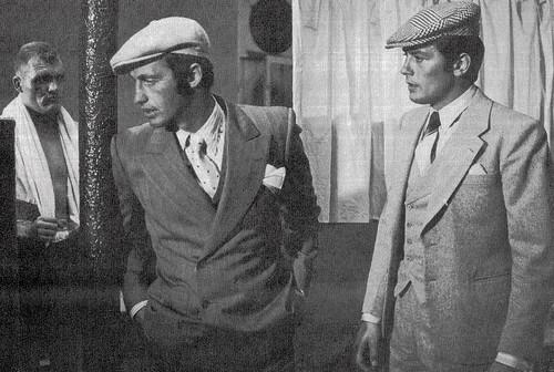 Jean-Paul Belmondo and Alain Delon in Borsalino (1970)