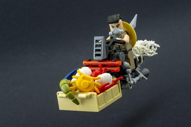 Cyberpunk fisherman Speeder bike (04)