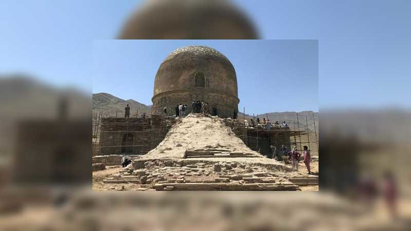 Arkeolog Temukan Stupa Buddhis di Shewaki, Kabul