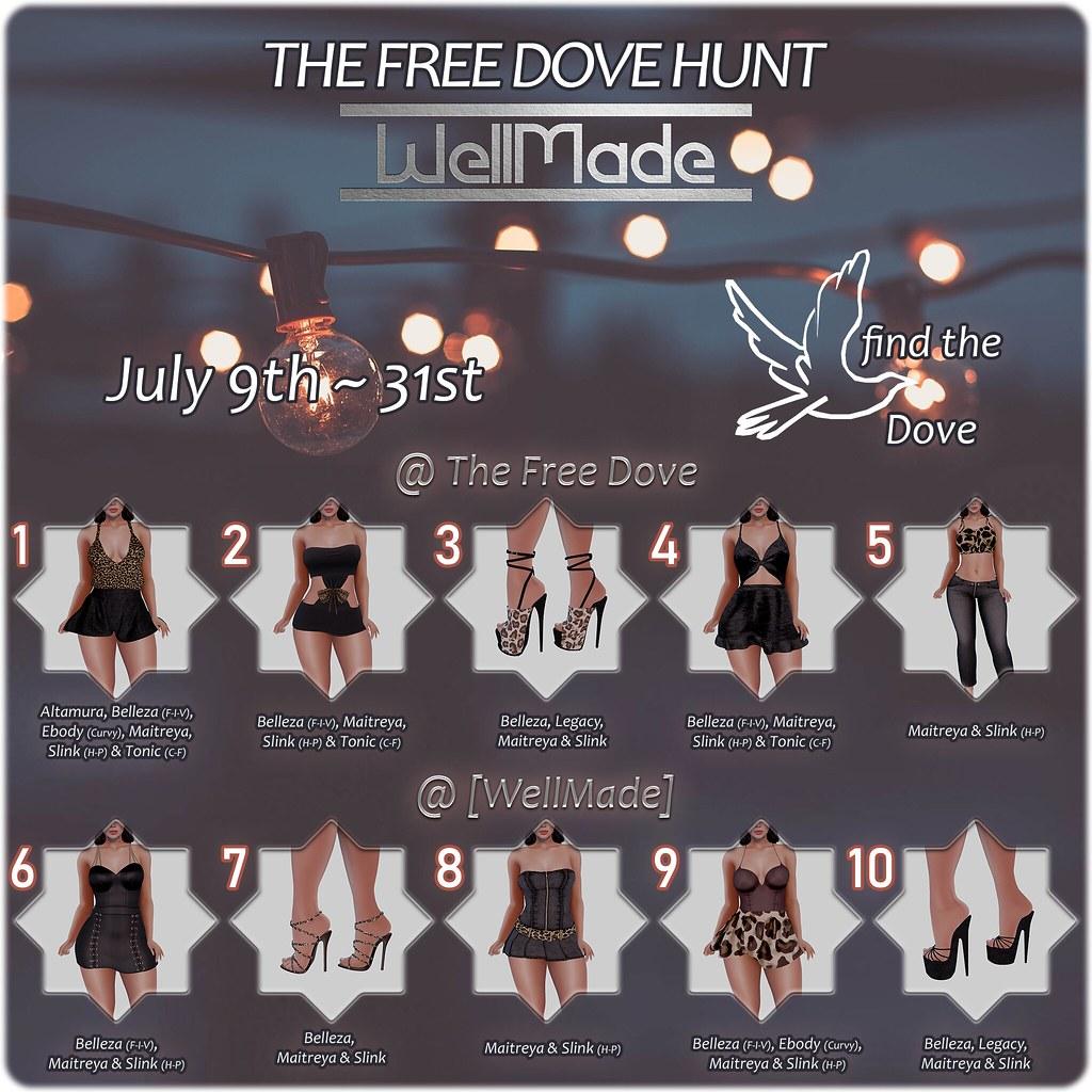 The Free Dove [WellMade] Hunt Key