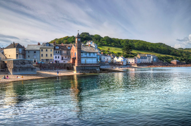 The village of Kingsand, Cornwall