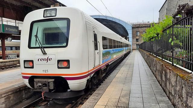 Trenes turísticos de Galicia