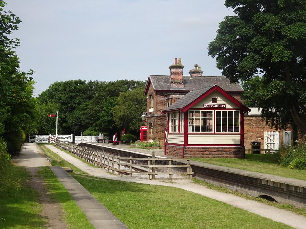 Hadlow Road Railway Station. Willaston, Cheshire