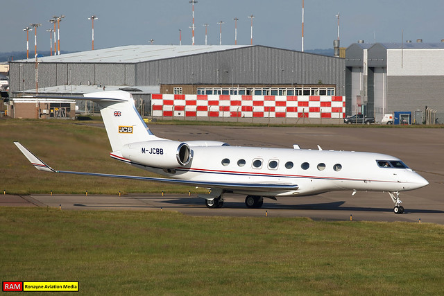M-JCBB | Gulfstream G650 | J.C. Bamford Excavators