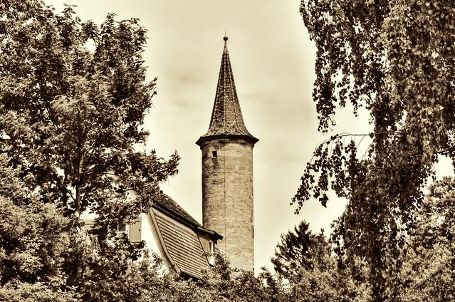 Rothenburg o. d. Tauber - Turm an der Sterngasse