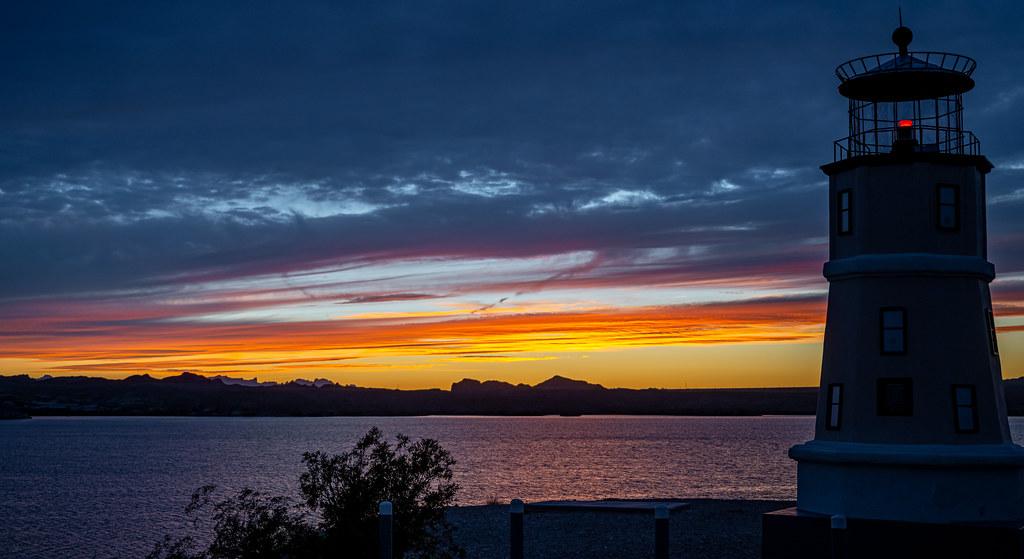 Sunset at Lake Havasu City