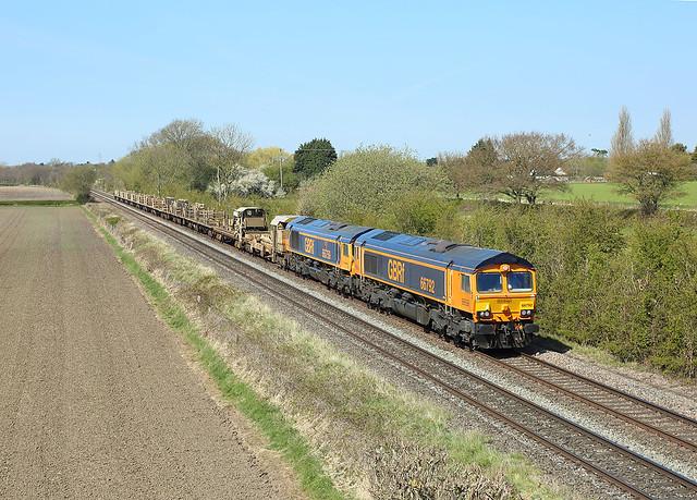 66792+66759, Barrow on Trent,  19 April 2021