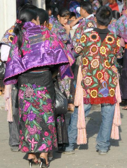 Mexico Chiapas Zinacantan Clothing Maya
