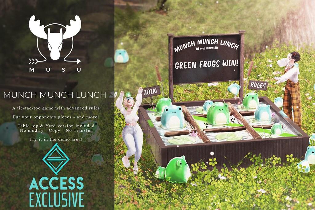 -MUSU- Munch Munch Lunch @ Access!
