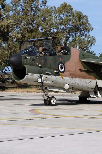 TA-7C Corsair II 154507 - Hellenic AF unmarked 070530 Araxos 1003